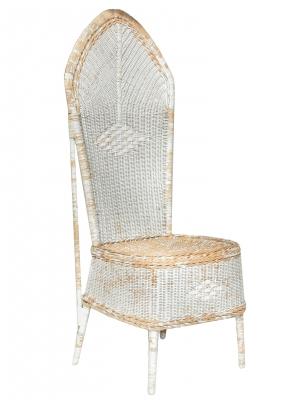 Unusual Highback Wicker Chairs